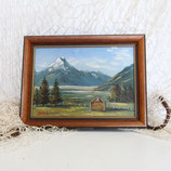 Painting of Mt Cook - New Zealand #4230