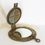 Brass Porthole Mirror #1778