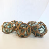 "4"" Glass Float Jute Rope #4188"
