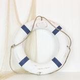 Life Ring  White & Blue #2941
