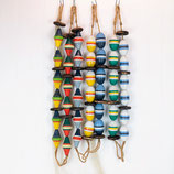 Assorted String of Wooden Buoys #3132