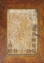 Reproduction de tableau - Reproduction d'art  Lettre poétique - Tant de couleurs - collection Lettres du désert