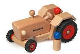 Traktor aus Buchenholz