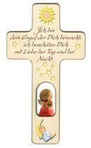 Engelkreuz  zur Geburt oder Taufe