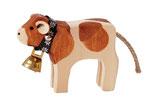 Kälbli mit Glocke Redholstein, handgesägt
