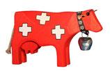 Swiss Kuh gross hangesägt und -bemalt
