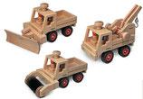 Zubehör zu Unimog und LKW's aus Buchenholz
