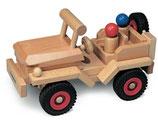 Jeep aus Buchenholz