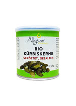 Bio Kürbiskerne geröstet, gesalzen 125g