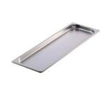 Edelstahl Gastroschale 2 cm hoch für Table Dance