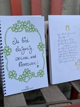 """Wunderschönes Notizbuch  """"Du bist einzigartig, wertvoll und liebenswert!"""""""