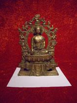 Buddha im Glückskranz