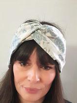 Headband élastiqué en voile de coton Oeko-Tex