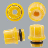 Drip Tip Mod. PERSEO / Giallo