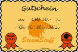 Geschenk-/Gutschein