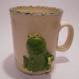 Relieftasse Frosch