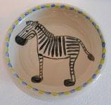 Kinderteller Zebra