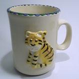 Relieftasse Tiger