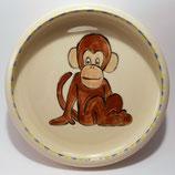 Kinderteller Affe