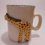 Relieftasse Giraffe