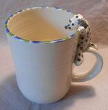 Tasse mit Henkelhocker Dalmatiner
