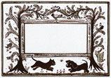Etiquettes digitales vierges - Planche des chiens des chats, des fleurs !