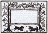 Etiq. digitales vierges - Planche des chiens des chats, des fleurs