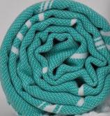 Fouta Mint mit Reißverschlusstasche