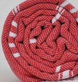 Fouta Rot mit Reißverschlußtasche