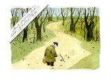 """Cartoon """"Herbst"""" von Reiner Schwalme"""