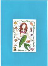 Kleine Hampelmeerjungfrau, Minimagnet