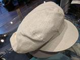 Hut und Robe Leinenmütze creme 100% Leinen