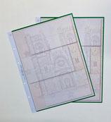 Folhas em branco EURO SOUVENIR PORTUGAL para as notas de 0€ Portugueses