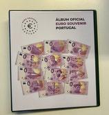 Album oficial EURO SOUVENIR PORTUGAL para as notas de 0€ Portugueses