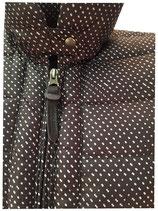 Woolrich W'S Down Jacket Zwart/Wit Stip WWCPS2222