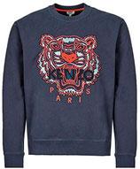 Kenzo Classic Tiger Crewneck Sweater Navy