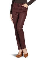 Rosner Alana-Pipe_15 Rood 25194 Cropped Zip Mono Elastic
