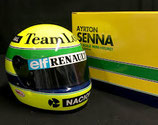 Helm Ayrton Senna Team LOTUS team 1985-1987