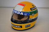 Helm schaal 1:2 Ayrton Senna