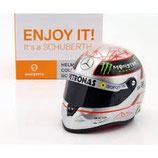 Helm Michael Schumacher 1:2  300ste GP