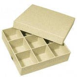 Pappmaché Sortierbox