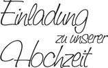 """Holzstempel """"Einladung zu unserer Hochzeit"""""""