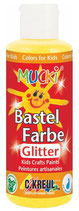 Mucki Glitter-Bastelfarbe 80 ml