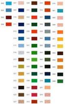 Mini-Pixelhobby Farbquadrat Nr. 300 - 399