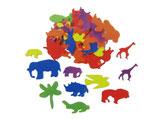Glorex Moosgummi-Set Tiere