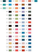 Mini-Pixelhobby Farbquadrat Nr. 400 - 499