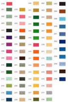 Mini-Pixelhobby Farbquadrat Nr. 200 - 299