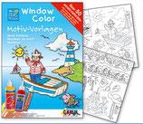 Window Color Motivvorlage Maritim