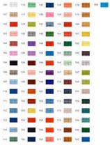 Mini-Pixelhobby Farbquadrat Nr. 100 - 199