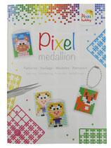 Mini-Pixelhobby Vorlagenbuch Medaillons